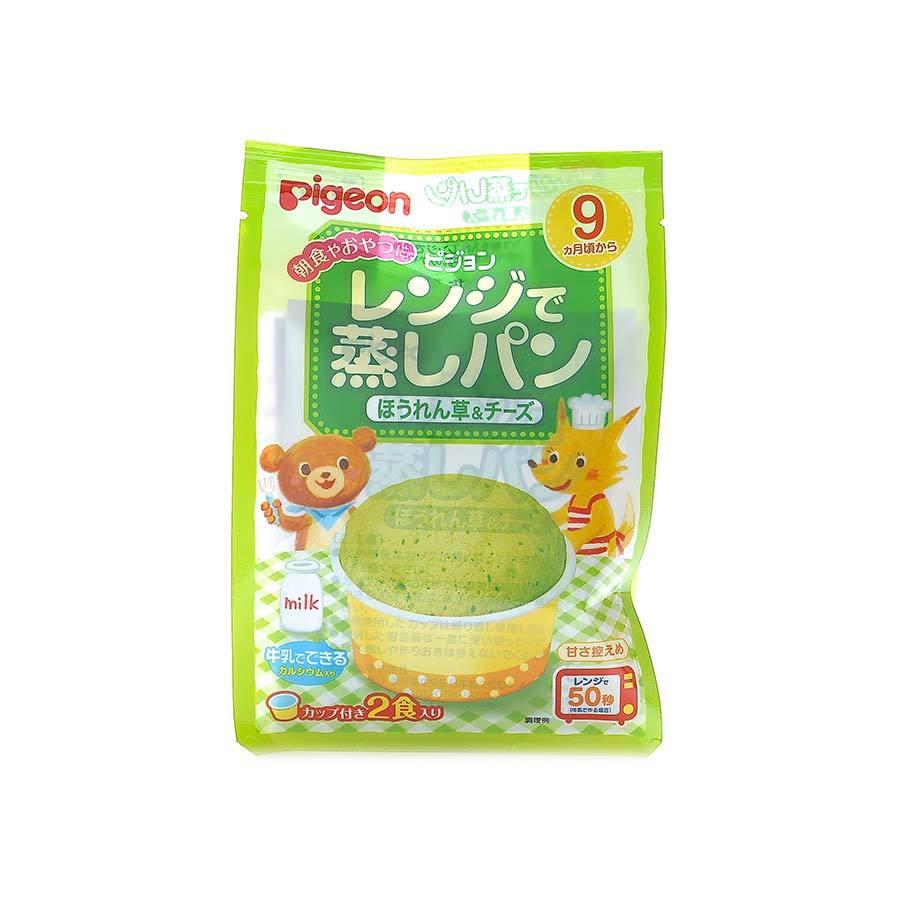 PIGEON 贝亲 微波炉制蛋糕粉 菠菜奶酪味21克×2袋