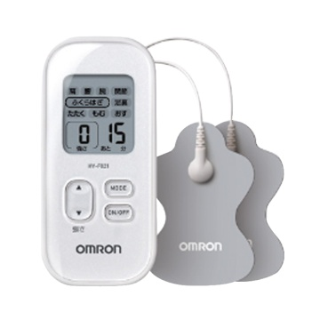 OMRON 欧姆龙 低周波按摩仪 HV-F021-W 白色 1台