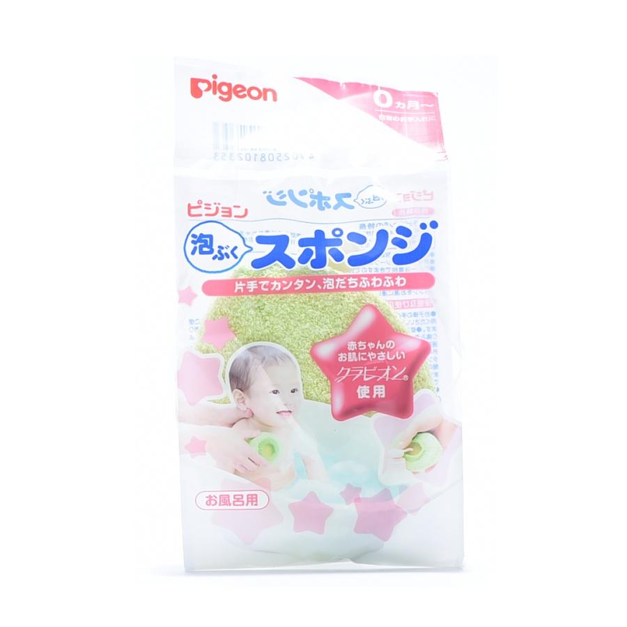 PIGEON 贝亲 婴儿用沐浴海绵 1个