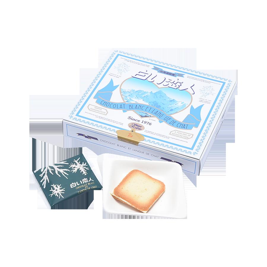 ISHIYA 石屋制菓 北海道白色恋人白巧克力夹心饼干 12片装