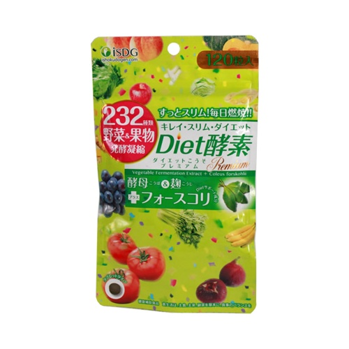 ISDG 医食同源 232种果蔬瘦身燃脂diet酵素 120粒