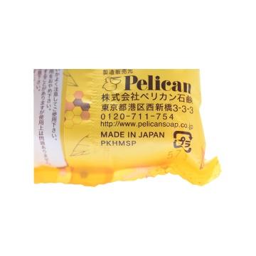 PELICAN 派力康 洁面天然美肤皂 蜂蜜 80g