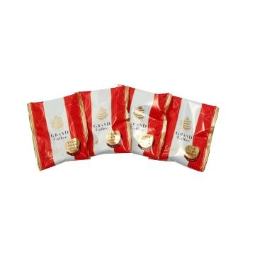 CALBEE 卡乐比 炙烤薯片 番茄罗勒味 17g×4袋