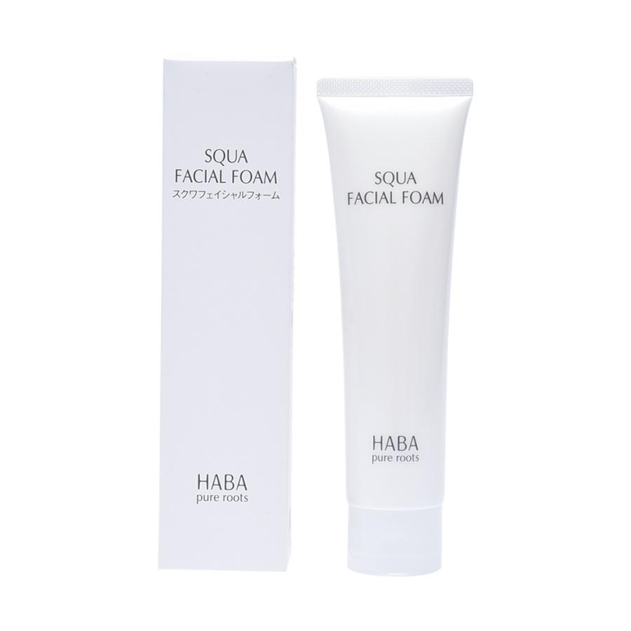 HABA 鲨烷保湿洁面乳泡沫洗面奶温和 100g