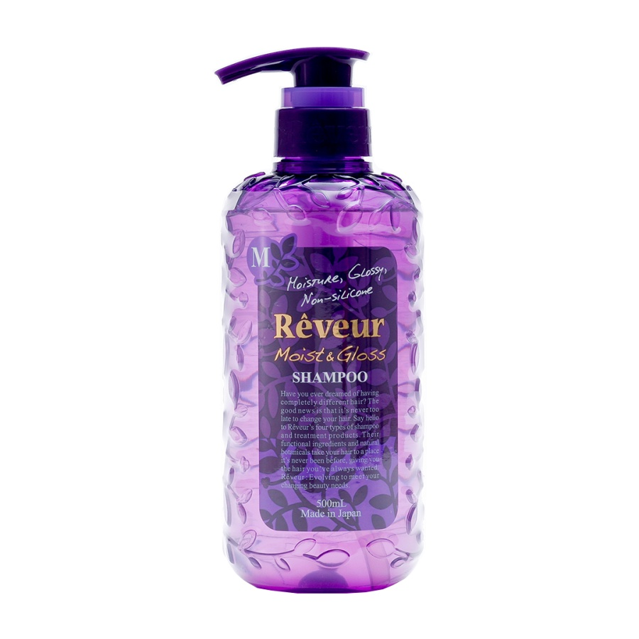 Reveur 无硅洗发水 紫色款 润泽保湿 500ml