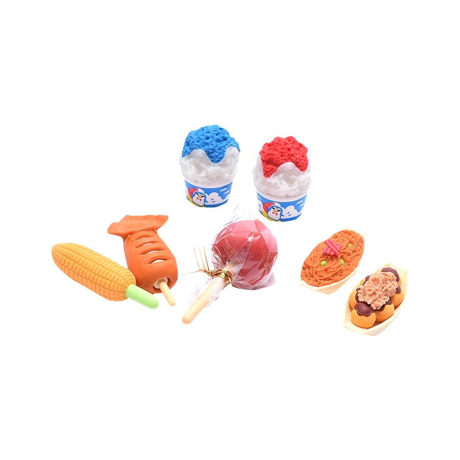 IWAKO 吸塑包装趣味橡皮 ER-BRI043 / 祭典 【BOX】 71g