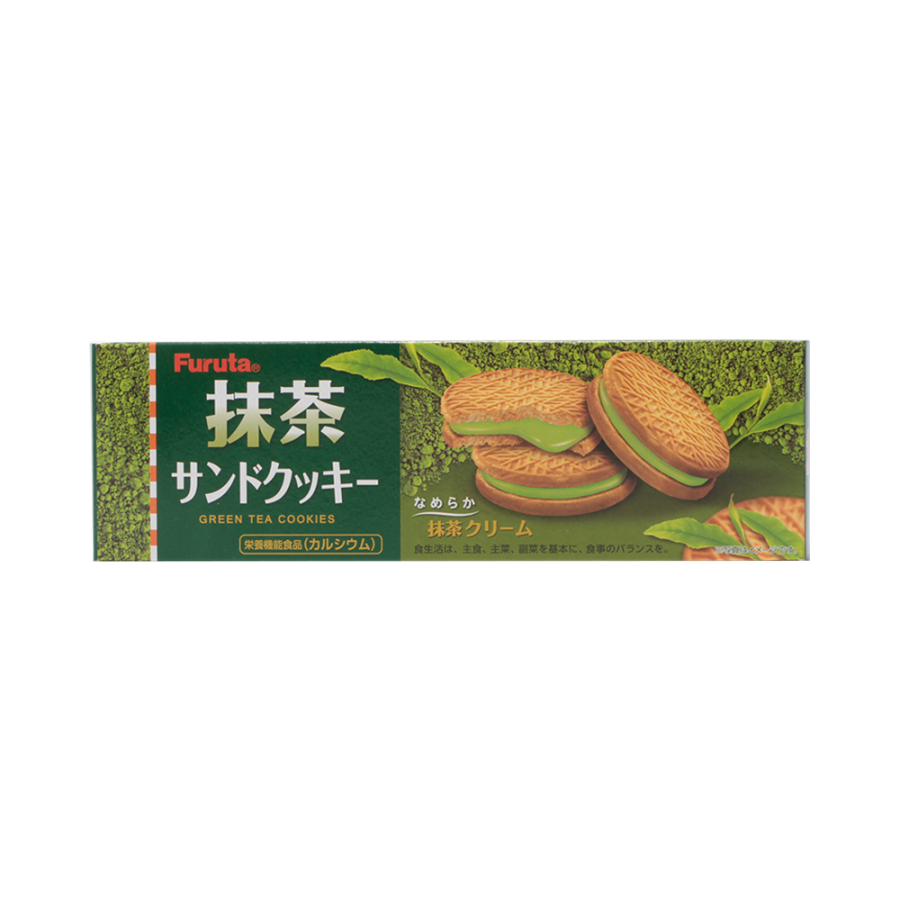 FURUTA 抹茶夹心饼干 10片
