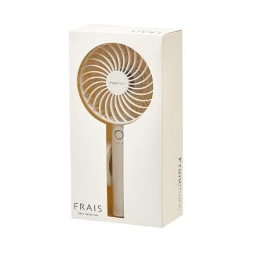Francfranc 两用充电式便携电风扇 白色 1个