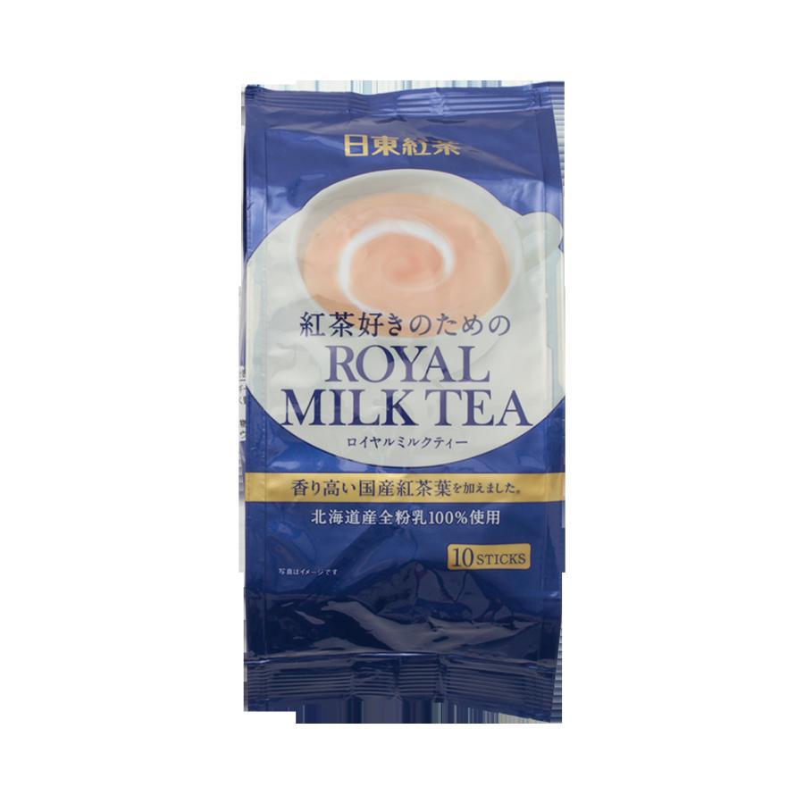 NITTOH-TEA 日东红茶 皇家经典奶茶速溶冲剂条 10包