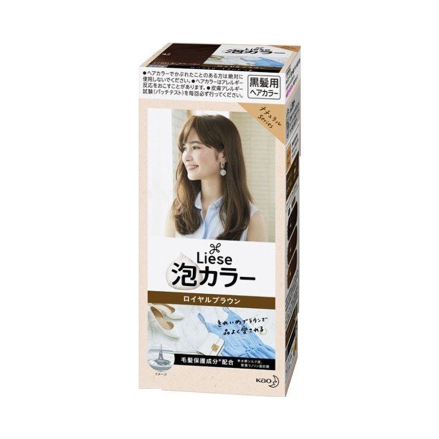 KAO 花王 PRETTIA泡沫染发剂 皇家棕色 1盒
