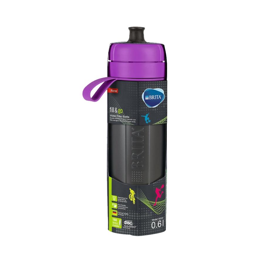 BRITA 碧然德 fill&go Active 便携式净水过滤杯 紫色 KBVICE1 1个