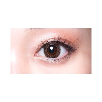 GIVRE TOKYO 双周抛型美瞳 琥珀魅棕 6枚装 -0.50