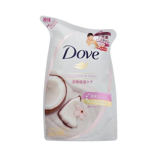 unilever 联合利华 多芬 高保湿沐浴露 椰奶&茉莉 替换装 340g