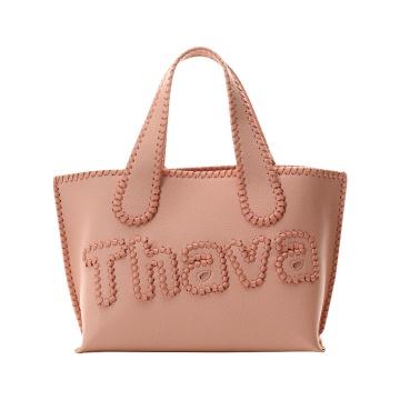 Samantha Thavasa 简约手提包 小款 粉色