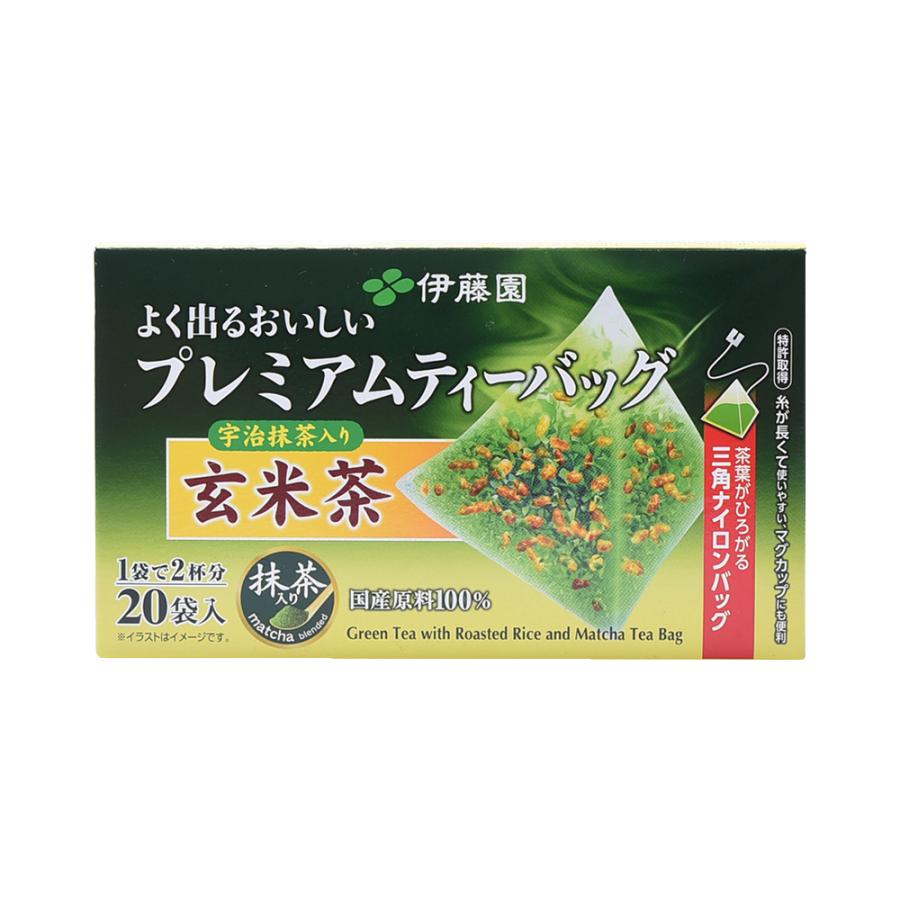 ITOEN 伊藤园 高级玄米茶 茶包型 1.8g* 20包