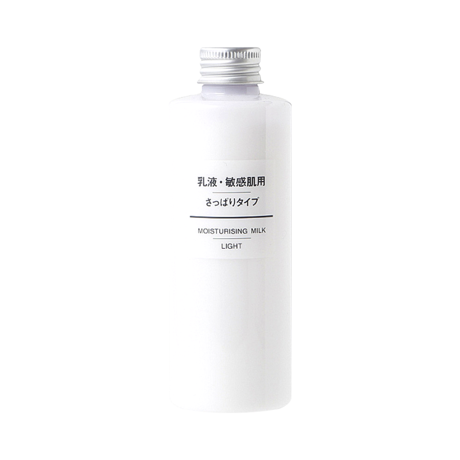 MUJI 无印良品 敏感肌肤用清爽保湿乳液 200ml