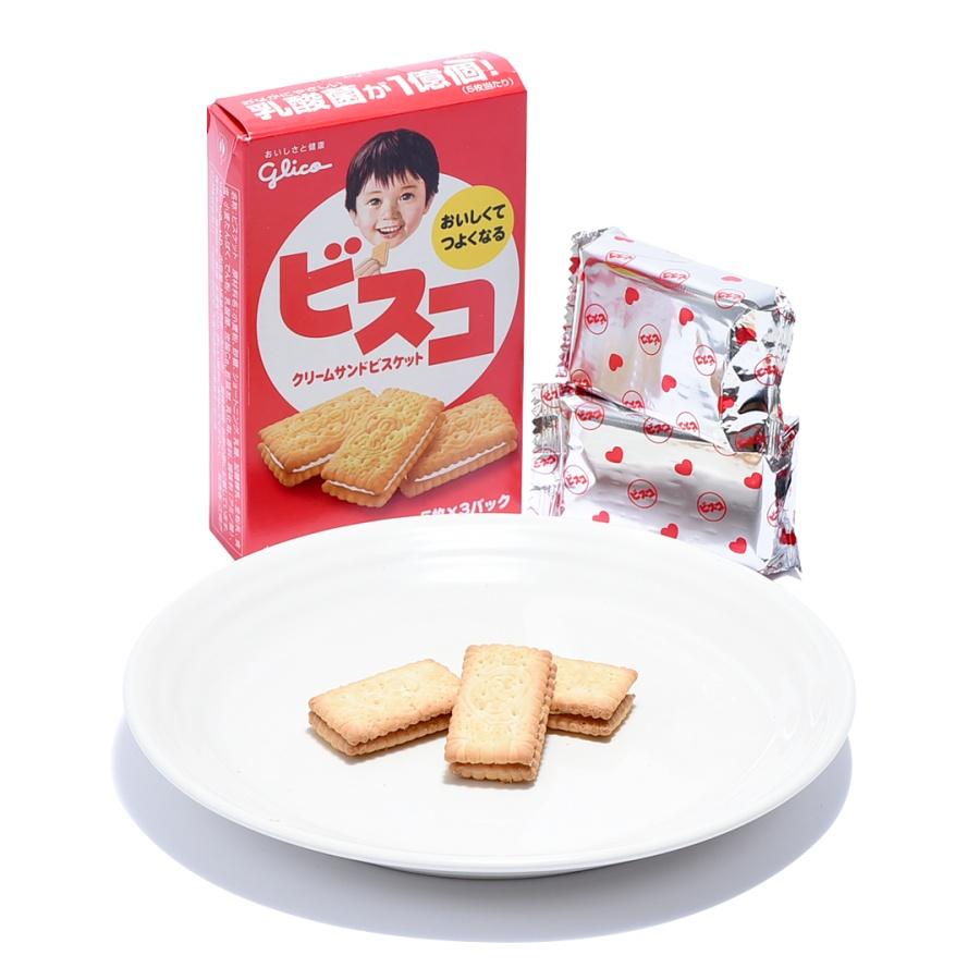GLICO 格力高 BISCO乳酸菌幼儿夹心曲奇饼干 15枚