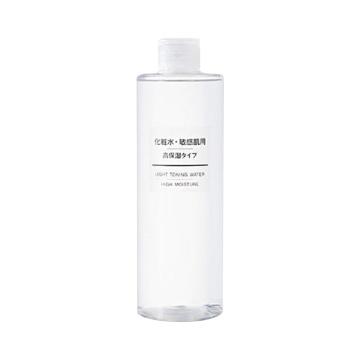 MUJI 无印良品 敏感肌肤用高保湿化妆水 400ml