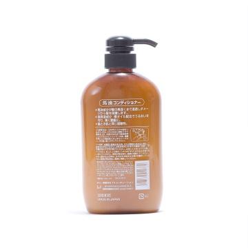 KUMANOYUSHI 熊野油脂 弱酸性马油护发素 600ML
