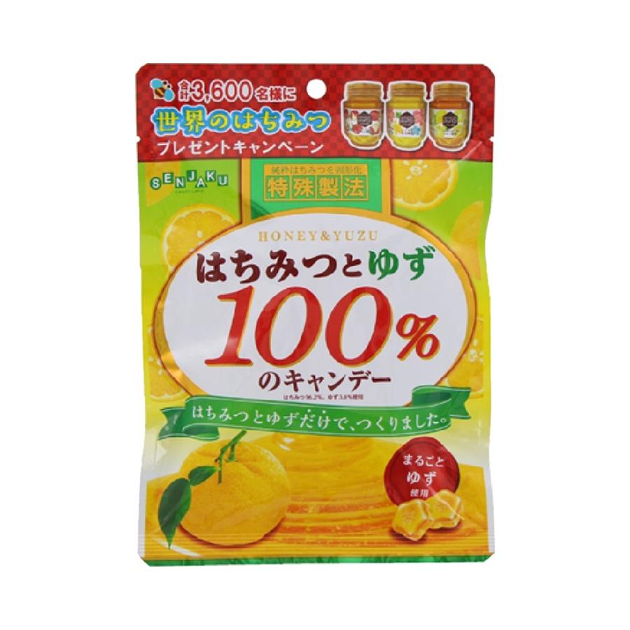 senjakuame 扇雀饴本铺 蜂蜜糖 柚子味 51g