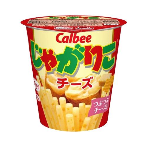 Calbee 卡乐比 Jagariko佳可丽坚脆薯条 芝士味  1杯装 58g