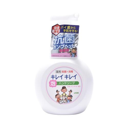 LION 狮王 药用泡沫按压式洗手液 柑橘香味 250ml