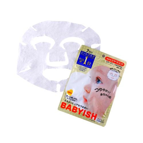 KOSE 高丝 babyish婴儿肌面膜 高保湿润泽型 7片