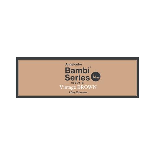 AngelColor Bambi系列日抛型美瞳 复古棕色 30枚 -4.00