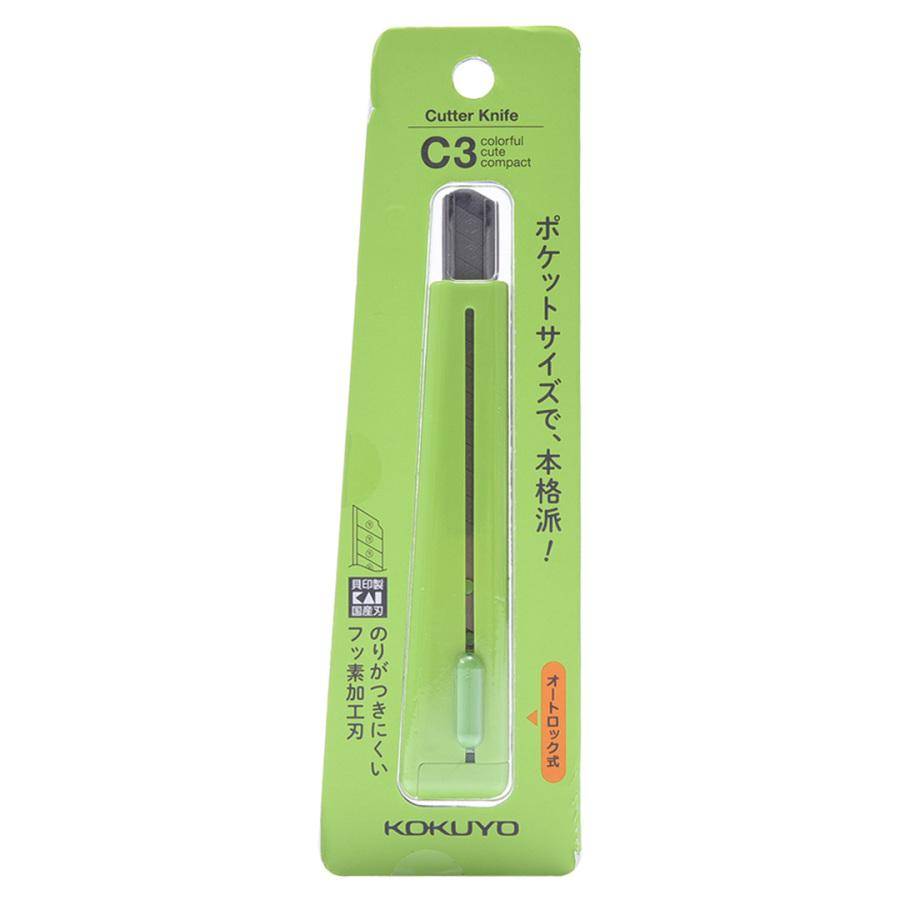 KOKUYO 国誉 标准型美工刀 绿色 1把