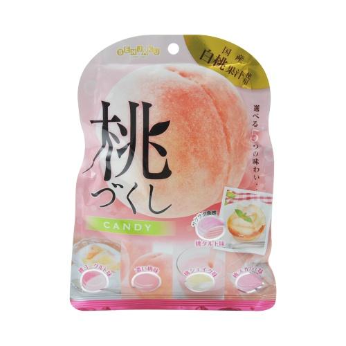 senjakuame 扇雀饴本铺 5种口味蜜桃水果糖 85g