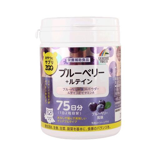 UNIMAT RIKEN ZOO营养补充咀嚼片 蓝莓+叶黄素 150g(1g×150粒)