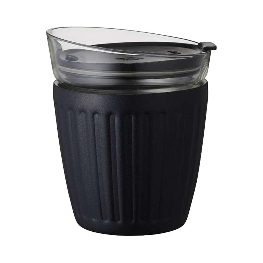 DOSHISHA 同志社 真空双层构造保温杯 黑色 180ml
