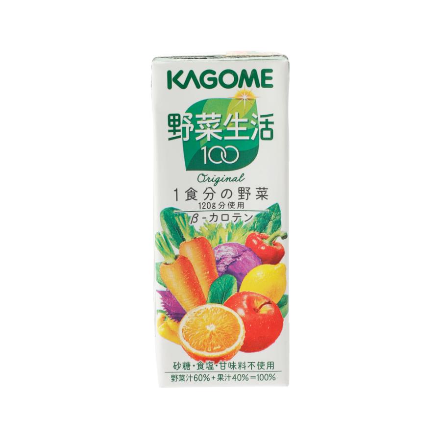 KAGOME 可果美 野菜生活100 混合果蔬汁 200ml