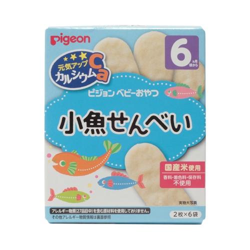 PIGEON 贝亲 宝宝补钙小鱼饼干 25g