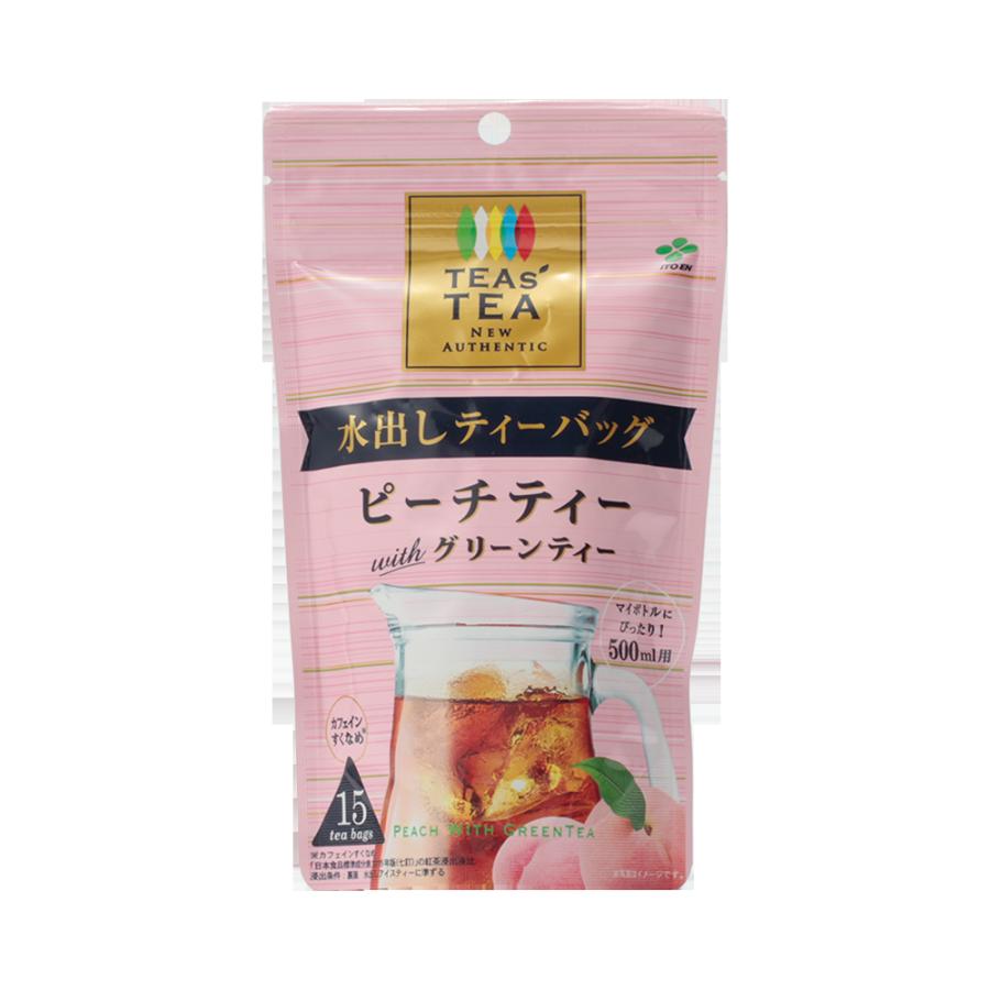 ITOEN 伊藤园 无糖白桃红茶茶包 15袋