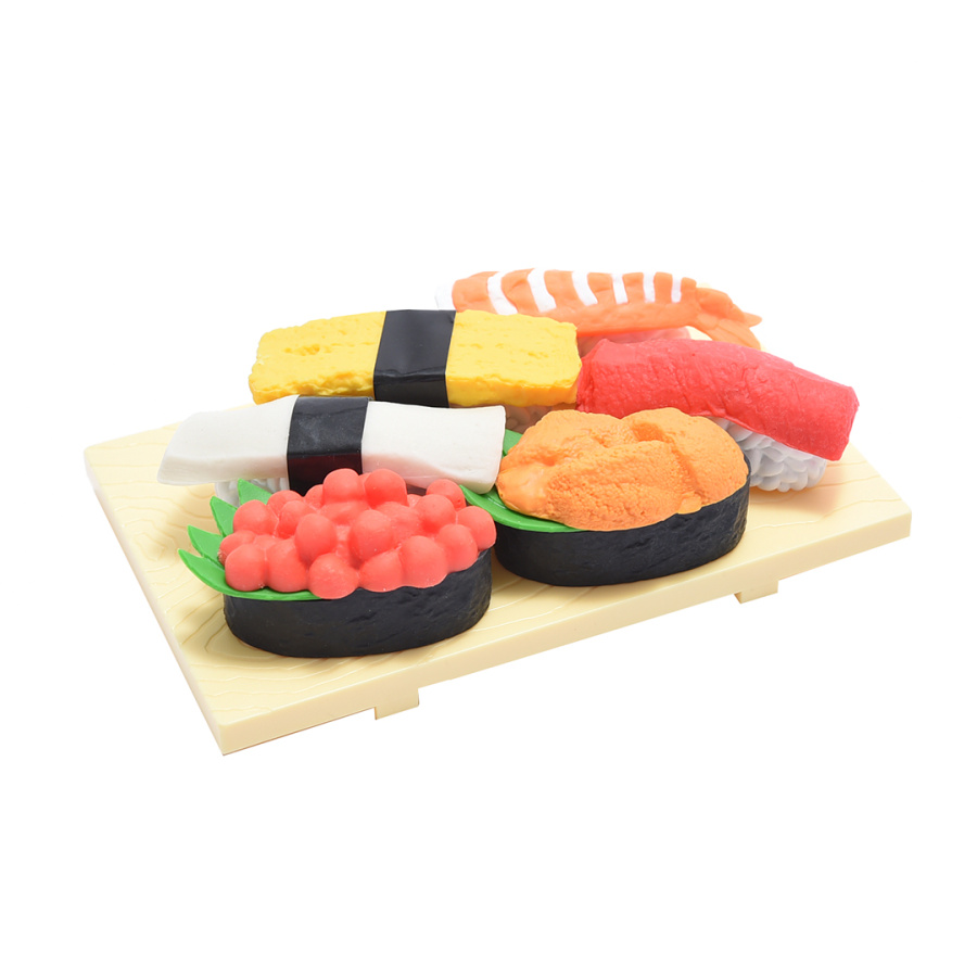 IWAKO 趣味橡皮 寿司 ER961082 82g