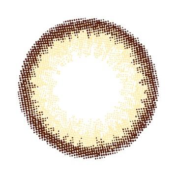 Miche Bloomin 日抛美瞳 Virgin Honey 30枚 -4.25