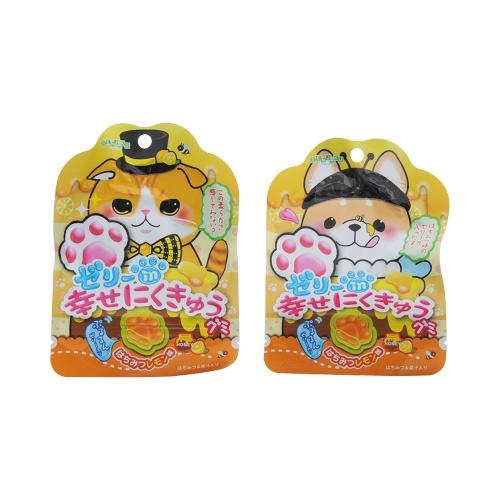 senjakuame 扇雀饴本铺 幸福猫爪水果橡皮糖  蜂蜜柠檬味 30g