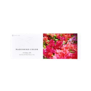 NADESHIKO COLOR 水润日抛美瞳 PINK柔情粉 ±0.00 10片