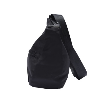 anello 船型涤纶单肩包 黑色