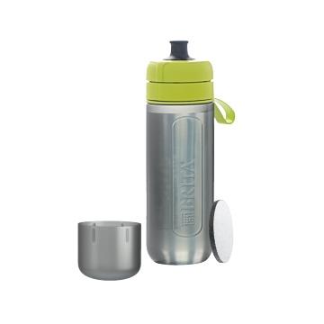 BRITA 碧然德 fill&go Active 便携式净水过滤杯 青柠色 1个