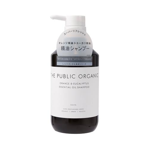 THE PUBLIC ORGANIC 有机植物精油无硅洗发水 柑橘保湿滋润型 500ml