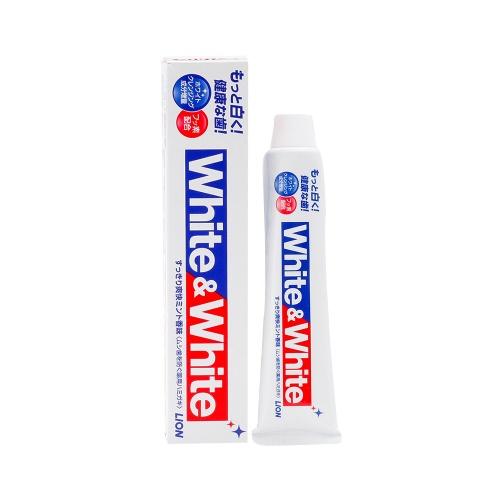 LION 狮王 White&White特效美白牙膏 150g