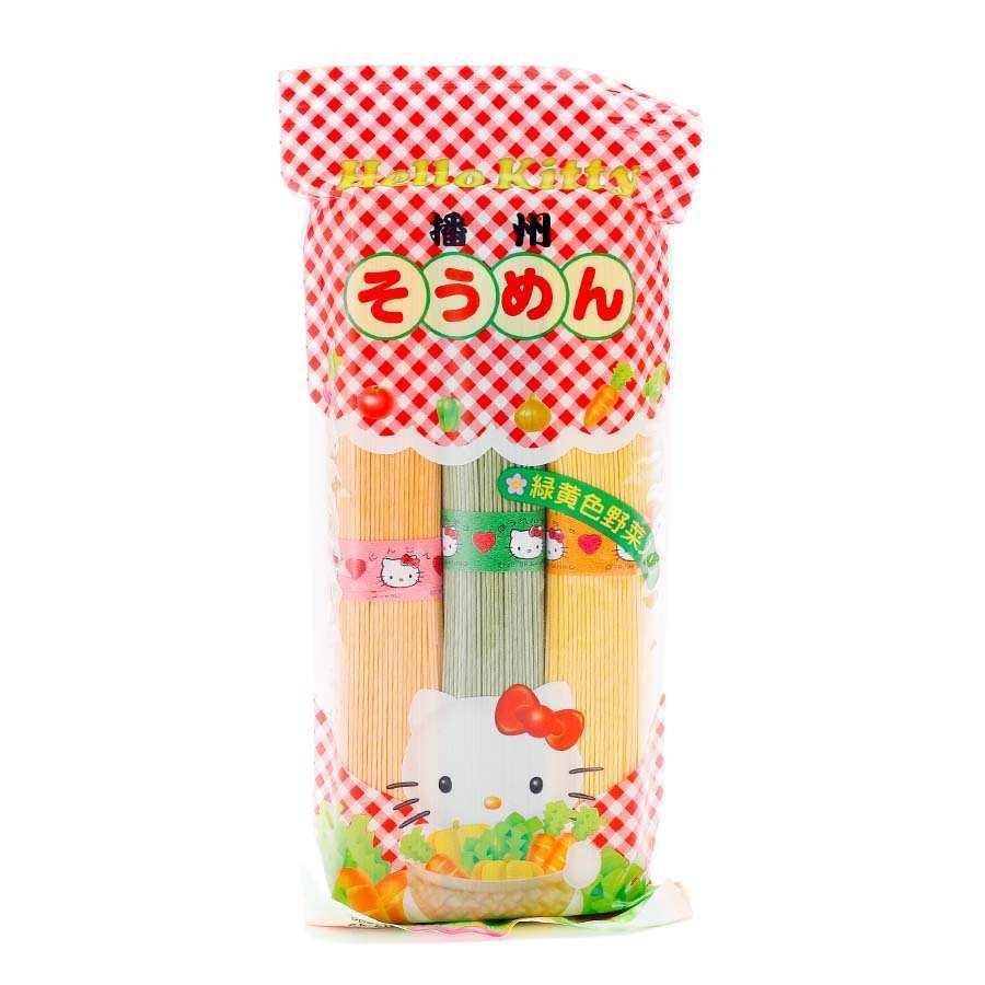 KANESU Hello kitty播州三色细面婴儿辅食 7个月起 300g