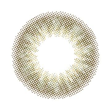 N'sCOLLECTION 日抛美瞳 抹茶拿铁色 10枚 -0.50