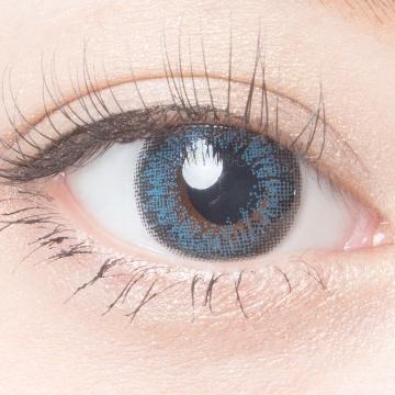 AngelColor Bambi系列日抛型美瞳 复古蓝色 30枚 ±0.00