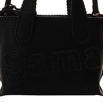 Samantha Thavasa 简约手提包 小款 黑色