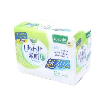Laurier 乐而雅 超薄F系列日用卫生巾 22.5CM*20片