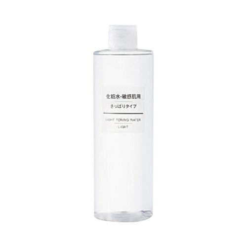 MUJI 无印良品 敏感肌用保湿化妆水 清爽型 400ml