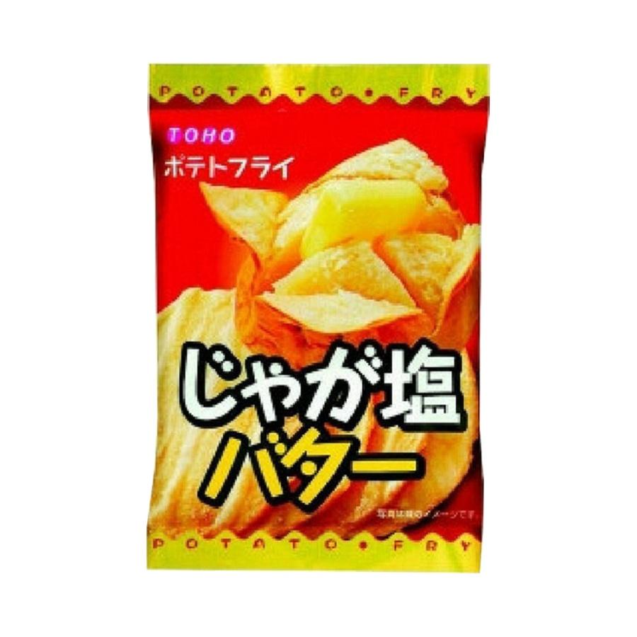 TOHO 东丰制果 休闲轻食酥脆薯片 黄油盐味 11g
